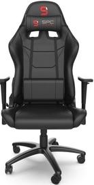 Žaidimų kėdė SilentiumPC SR300 V2 Black