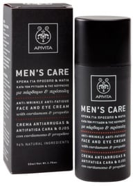 Apivita Mens Care Anti Wrinkle Face & Eye Cream 50ml