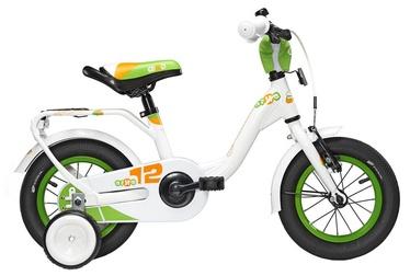 """Vaikiškas dviratis Scool niXe Alloy 12"""" White Green"""