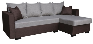 Platan Karol 03 Corner Sofa Brown/Grey