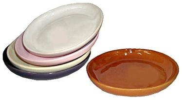 SN Ceramic Pot Plate L-4 Ø17cm White