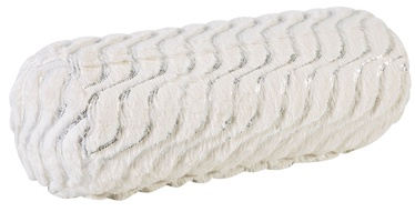 Home4you Soft Me Roll Pillow D18x50cm With Silver Spangle