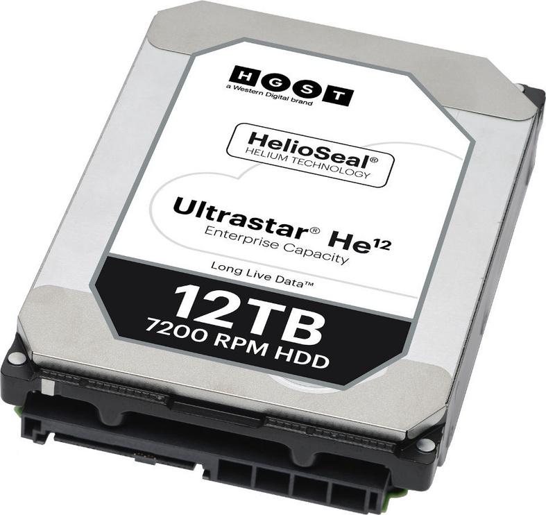 """HGST Ultrastar He12 12TB 3,5"""" 7200RPM SAS 256MB 0F29530"""