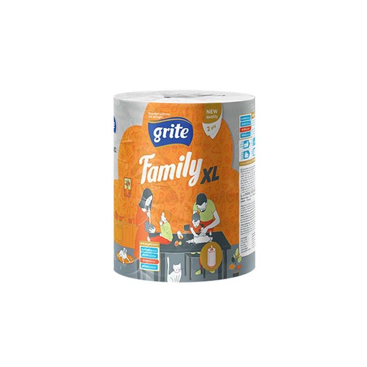 DVIEĻI PAPĪRA GRITE FAMILY XL 2S250 1GAB