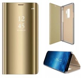 Чехол Mocco Clear View For Samsung Galaxy A12, золотой
