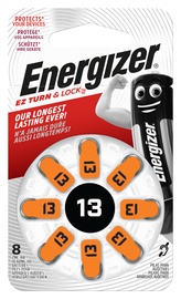 DZIRDES BATERIJA ENERGIZER 13 ZINC AIR BL8 1.4V