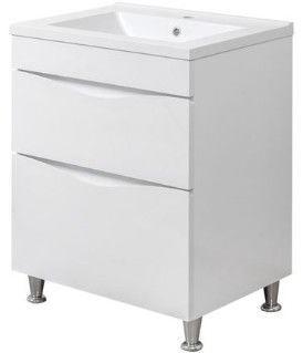 Vannas istabas skapītis Sanservis Smile-70 Como-70 White 70x82.5x46cm