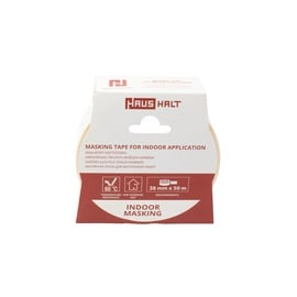HausHalt Masking Tape For Indoor Application 38mm 50m
