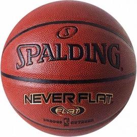 Spalding NBA Neverflat Basketball Brown Size 7