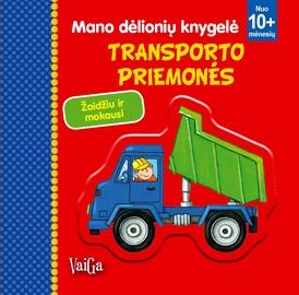 Knyga Mano dėlionių knygelė. Transporto priemonės