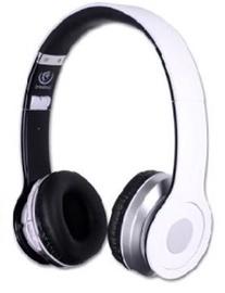 Ausinės Rebeltec Bluetooth Headphone Cristal White