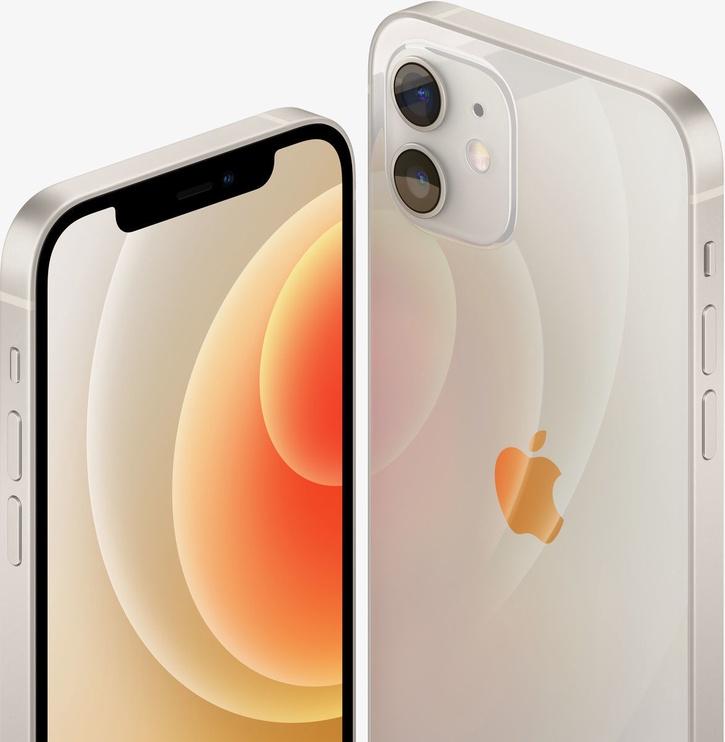 Mobilusis telefonas Apple iPhone 12 White, 128 GB