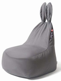 Кресло-мешок Qubo Daddy Rabbit Grey Soft, 120 л