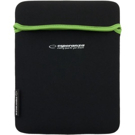 Esperanza ET173G Sleeve For Tablets 10.1'' Black/Green