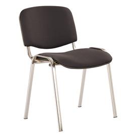 Apmeklētāju krēsls Izo C-11 Black/Chrome