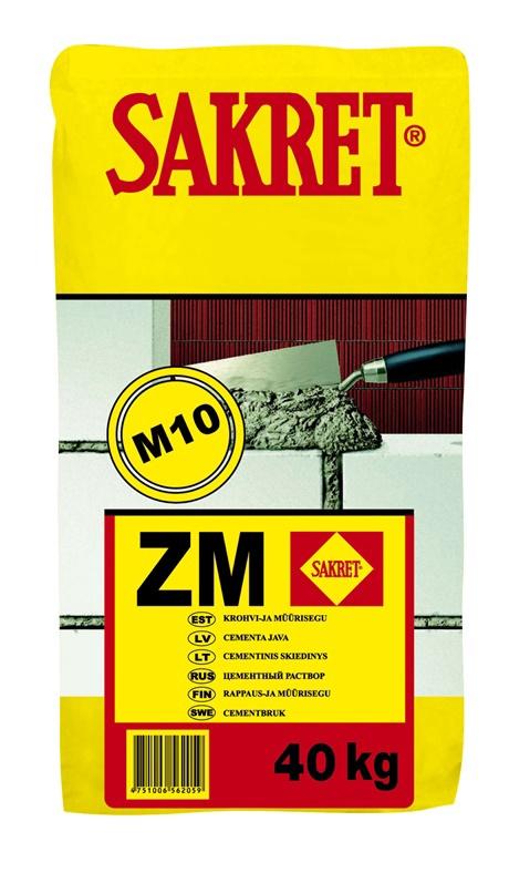 Cementinis mišinys Sakret ZM, 40 kg