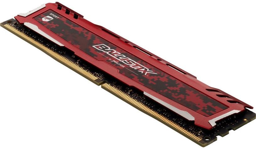 Crucial Ballistix Sport LT Red 8GB 2400MHz DDR4 BLS8G4D240FSEK