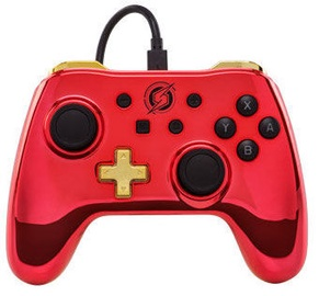 PowerA Wired Controller Metroid Chrome Series Edition