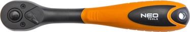NEO 08-514 1/4'' Ratchet Handle 150mm
