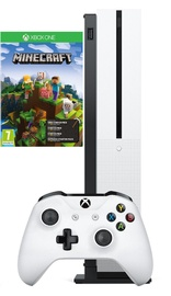 Microsoft Xbox One S 1TB + Minecraft Holiday