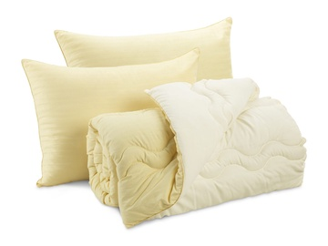 Dormeo Good Morning/Night Pillows and Duvet Set Yellow 200 x 200cm