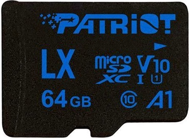 Patriot LX Series 64GB MICRO SDXC V10