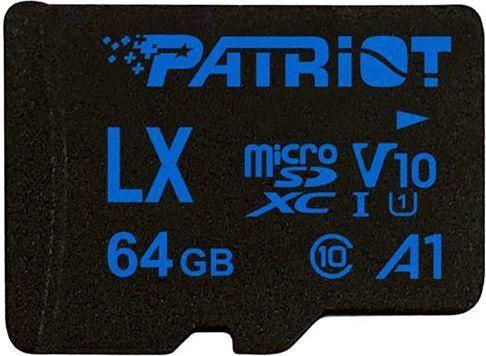 Patriot LX Series 64GB MICRO SDXC V10