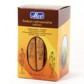 Rudasis cukrus Alvo, 5 g x 50