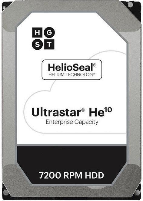 """HGST Ultrastar HE10 10TB 7200RPM 256MB 3.5"""" 0F27606"""