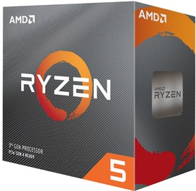 Procesorius AMD Ryzen 5 3600 3.6GHz 32MB BOX 100-100000031BOX, 3.6GHz, AM4, 32MB