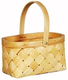 Verners Wood Basket 23x12