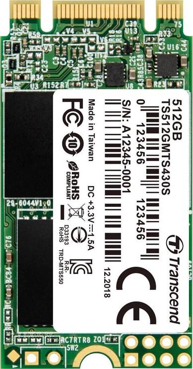 Transcend 430S M.2 SATAIII 512GB