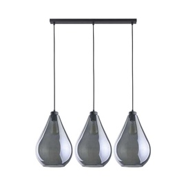 TK Lighting Fuente 2792 Ceiling Lamp 3x60W E27 Black/Grey