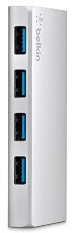 Belkin USB 3.0 4-port Hub + USB-C Cable
