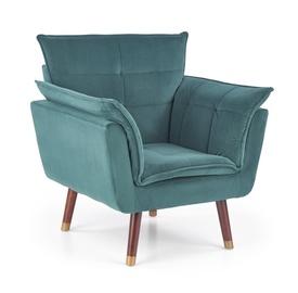 Fotelis Halmar Rezzo, 73 x 80 x 84 cm, žalia