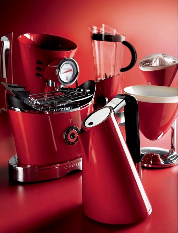 Bugatti Uma Kitchen Scale 56-UMAC3 Red