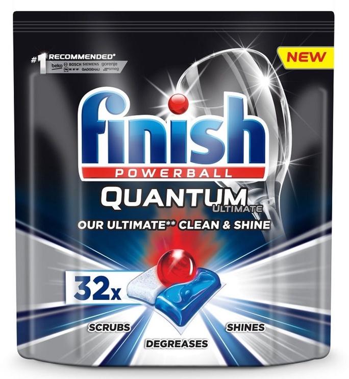 Indaplovių tabletės Finish Quantum Ultimate, 32 vnt.