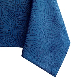 Скатерть AmeliaHome Gaia, синий, 2200 мм x 1550 мм