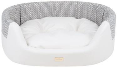 Amiplay Morgan Dog Ellipse Bedding L 73x64x22cm White