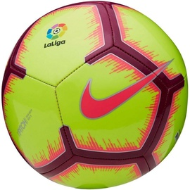 Nike La Liga Pitch Football FA18 Yellow Size 4