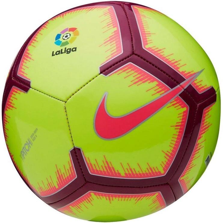 Nike La Liga Pitch Football FA18 Yellow Size 4