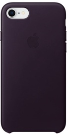 Apple Leather Case For Apple iPhone 7/8 Dark Aubergine