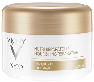 Vichy Dercos Nourishing Reparative Rich Mask 200ml