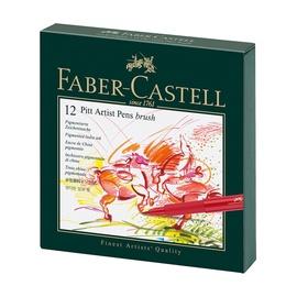 Фломастер Faber Castell PITT, односторонние, 12 шт.