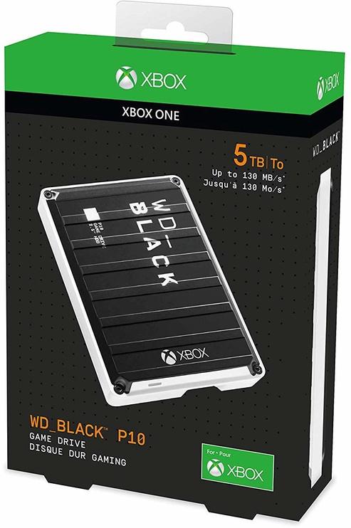 Western Digital Black P10 Game Drive For Xbox One 5TB