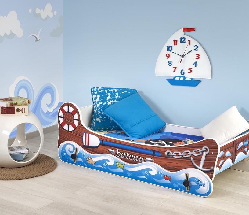 Bērnu gulta Halmar Boat, 150x79 cm