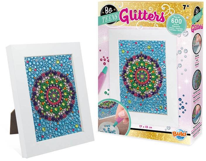 Dekoravimo rinkinys Buki France Be Teens Glitters Mandala DP007