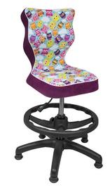 Entelo Petit Black HC+F Size 3 Children Chair ST32 Owls Purple