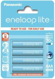 Panasonic Eneloop Lite Rechargeable Battery 4x AAA 550mAh