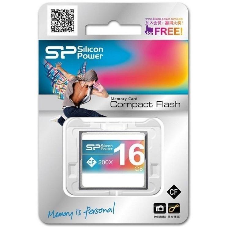 Silicon Power 200X Compact Flash 16GB